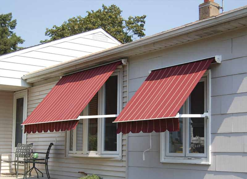 Gearbox Pivot Arm Awning - The Blinds Place